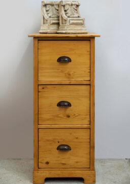 Kleiner Büroschrank / Schubladenschrank, Jugendstil um 1910