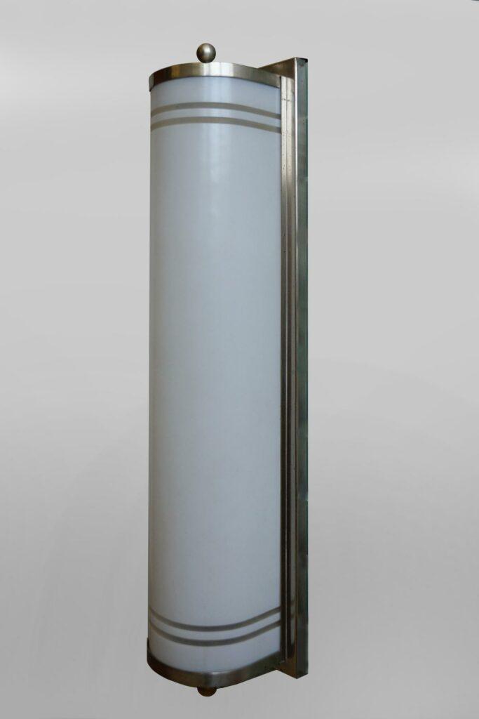 Farbig gefasste antike indische Holzsäule / Sockel / Baluster (2)