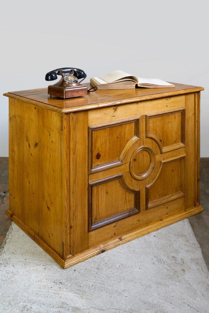 Kleiner Ladentresen / Shop Counter / Schreibtisch, Art Deco um 1920/1930